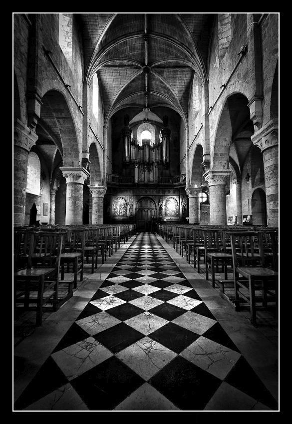 Abbatiale de l'abbaye Notre-Dame - Beaugency (45)