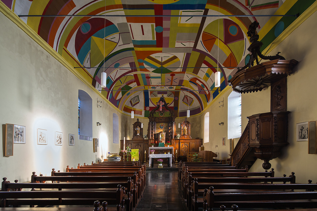 Eglise Sainte-Agathe - Laforêt / Vresse-sur-Semois (Belgique)