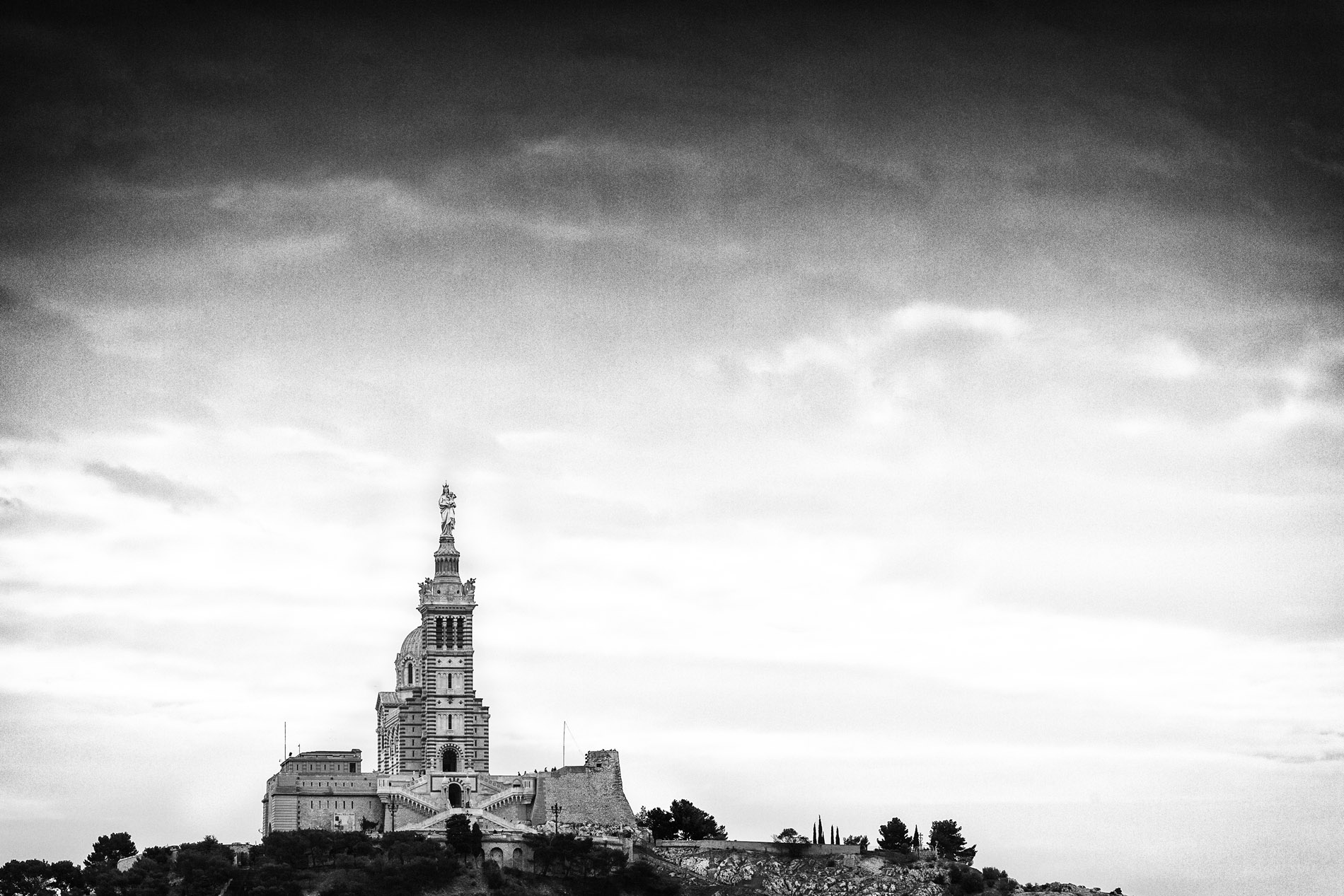Basilique Notre-Dame-de-la-Garde - Marseille (13)