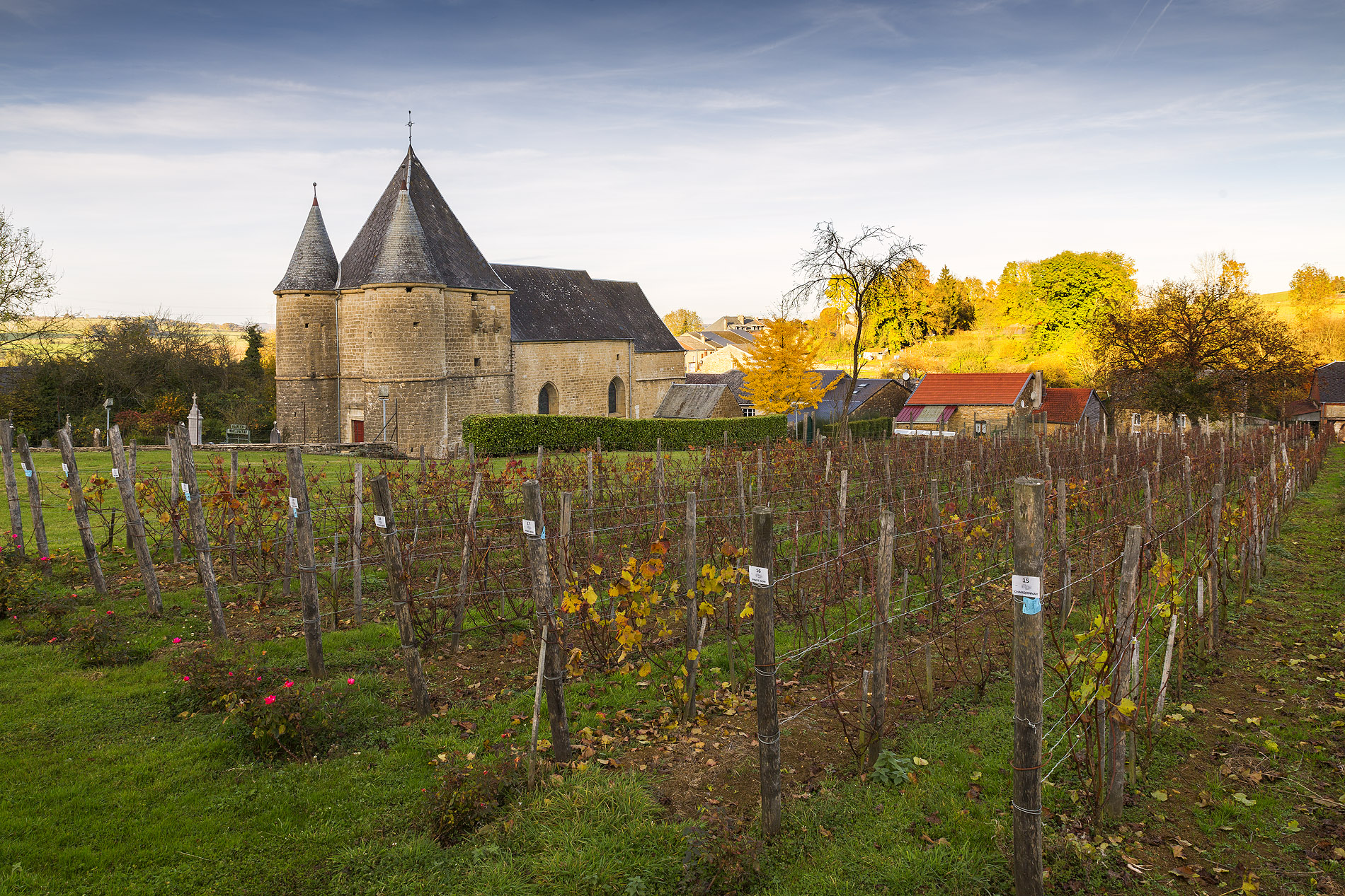 Église Saint-Étienne - Rouvroy-sur-Audry (08)