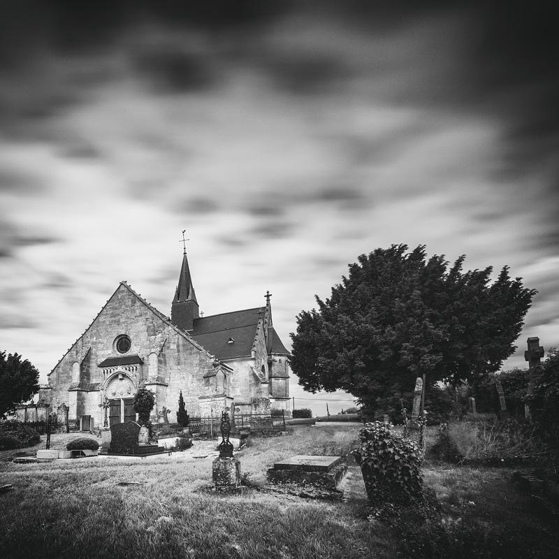 Eglise Saint-Juvin - Sainte-Vaubourg (08)