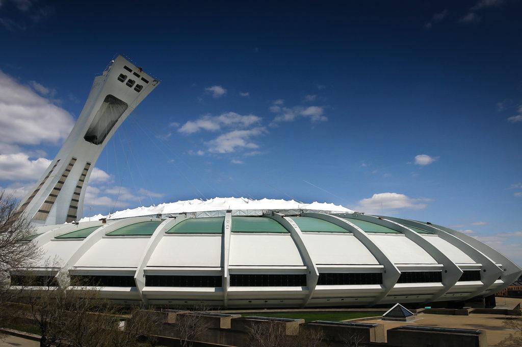 Stade olympique de Montréal - Canada
